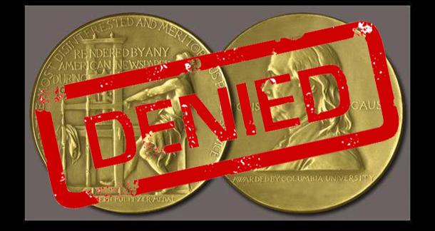 "two gold coins with a red ""DENIED"" stamp over both"